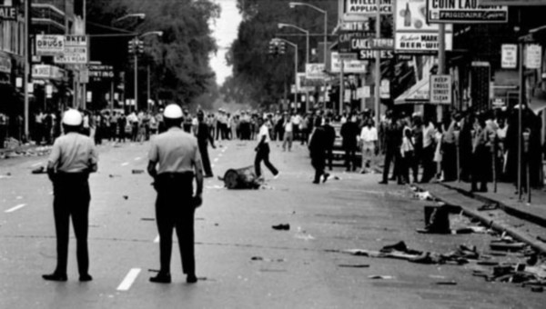 Straßenkämpfe Detroit