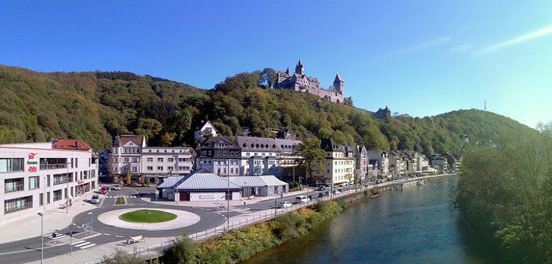Blick auf die Stadt Altena