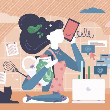 Hilfe, ich bin berufstätig! – Aus dem Leben einer arbeitenden Frau, Mutter und Tochter